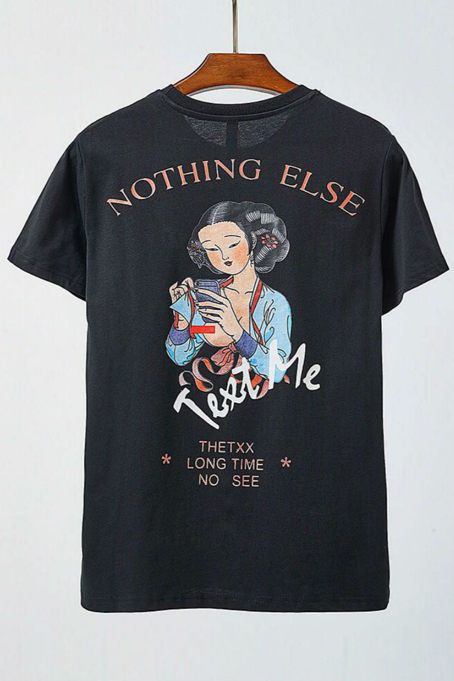 Nothing Else Print T-shirt
