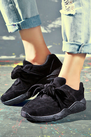 Black Running Sport Shoes