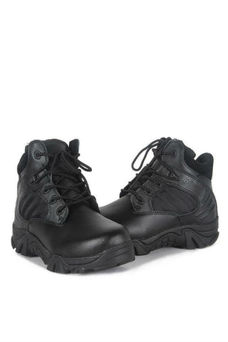 Military Trekking Boots In Black