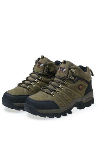 Army Green Trek Climbing Shoes