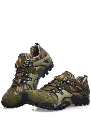 Brown Trekking Shoes