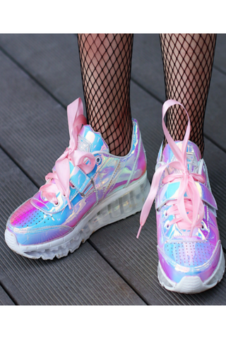 Hologram Pink Sneakers