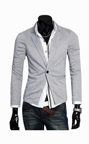 One Snap Light Grey Jacket
