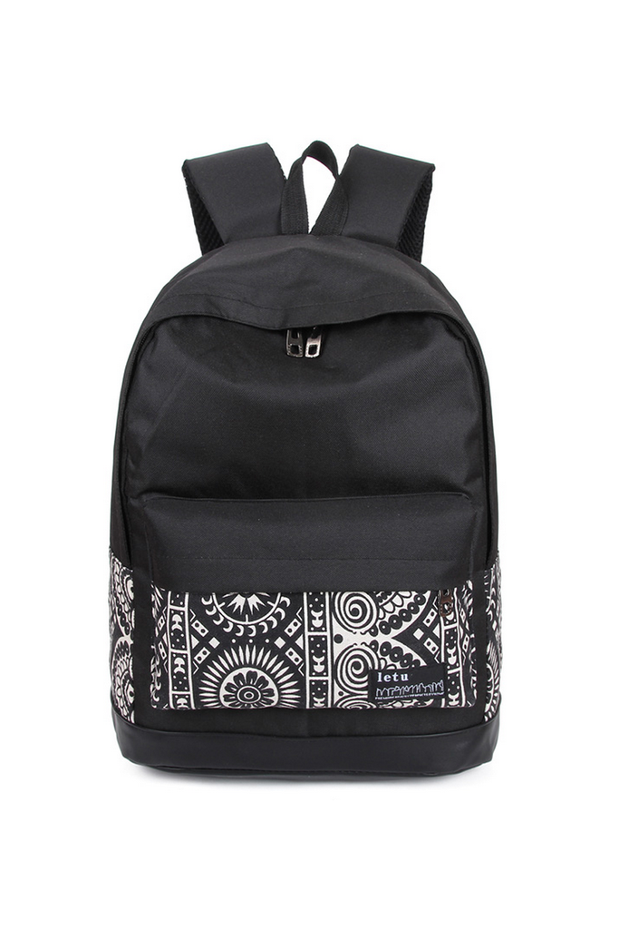 Unisex Tribal Printed Backpack