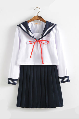 Jfashion Lace Up College Uniform
