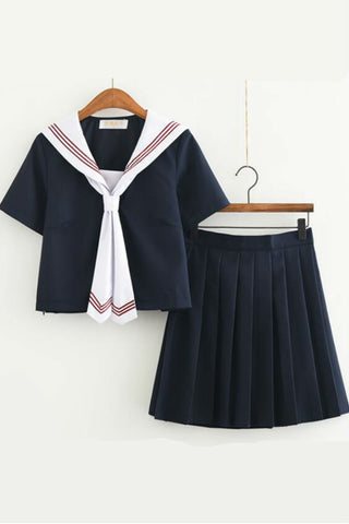 Jfashion Tie Up Uniform Set