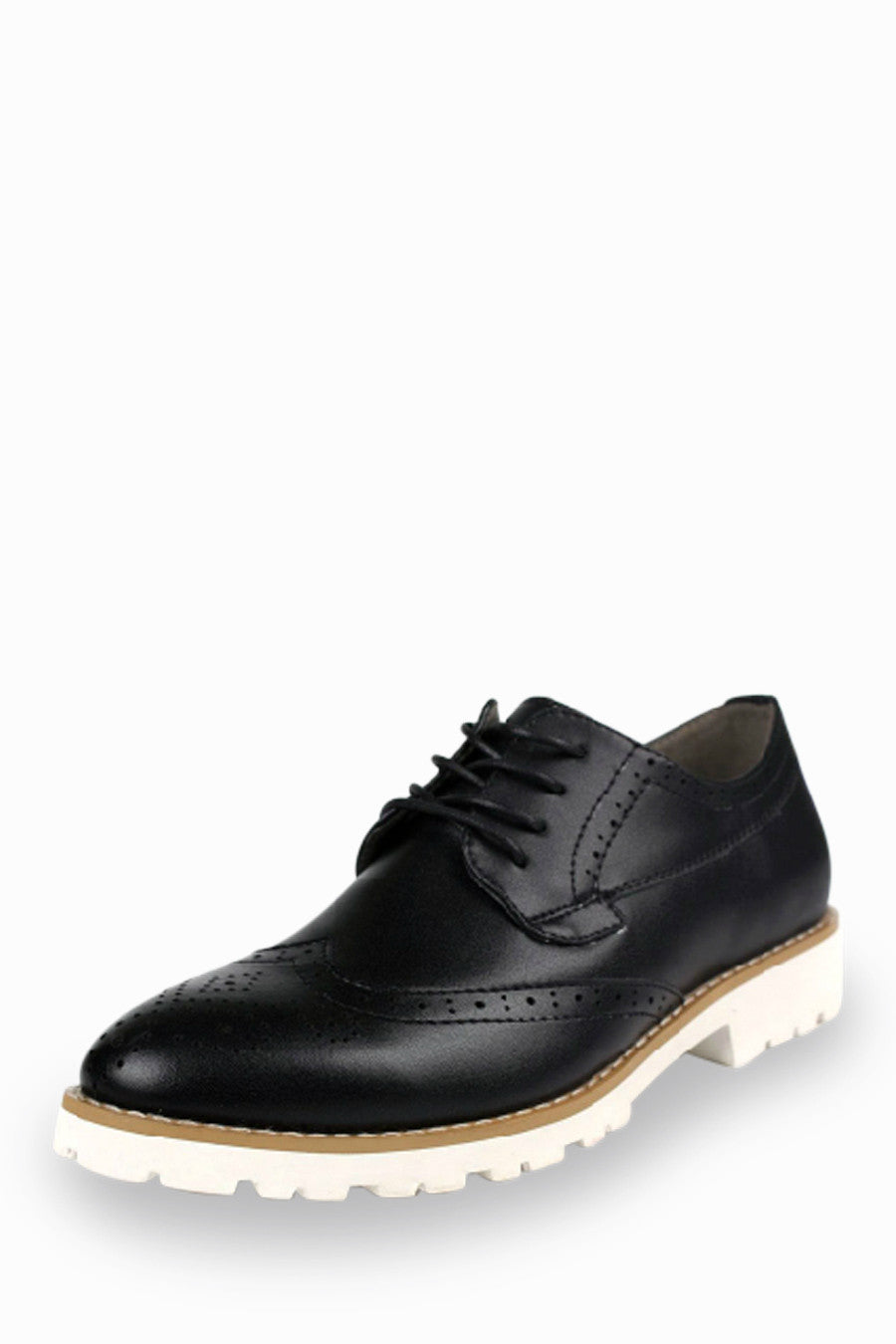 Leather Dress Shoes In Black