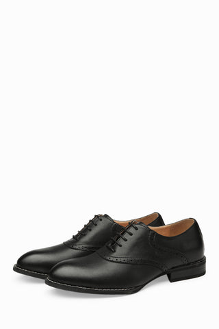 Patent Leather Loafers In Black