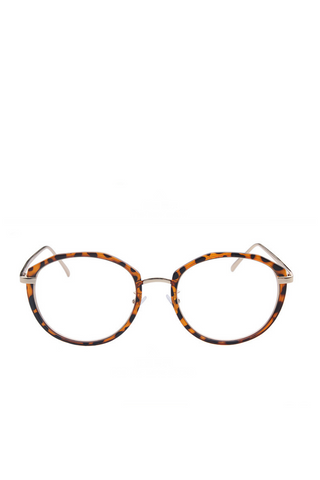 Leopard Metal Glasses
