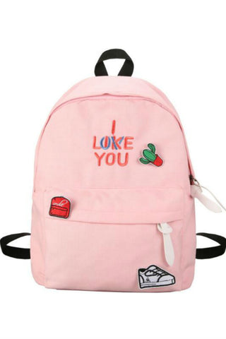 """I Like You"" School Backpack"
