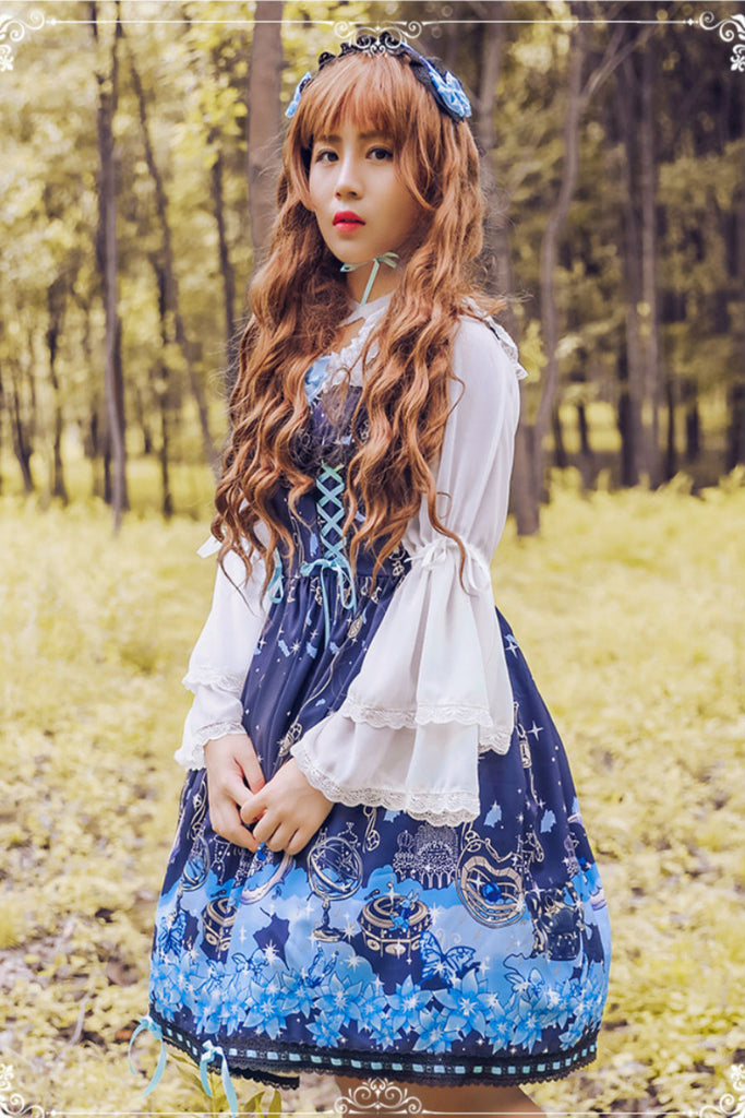 JSK Alice Lace Up Dress