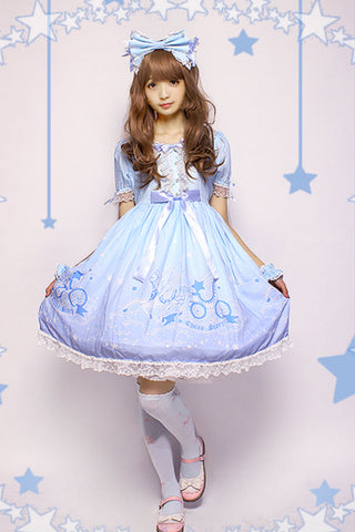 Dreamy Starry Night Dress