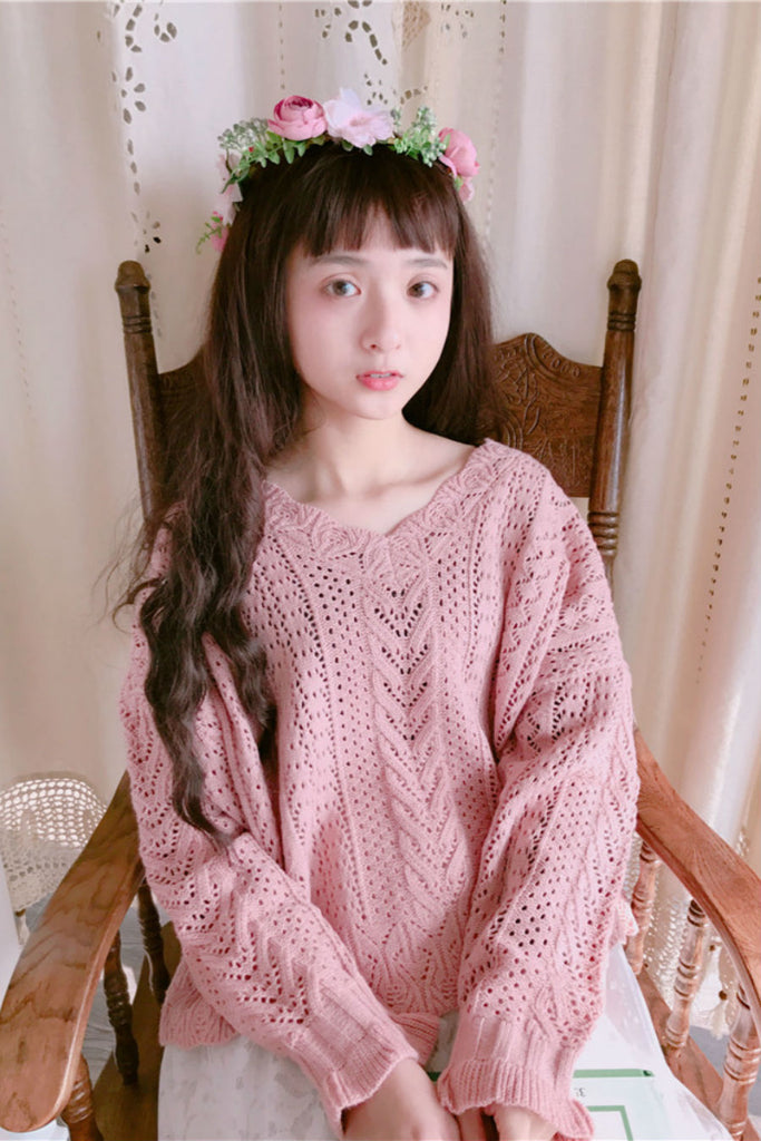 Kawaii Crochet Sweater