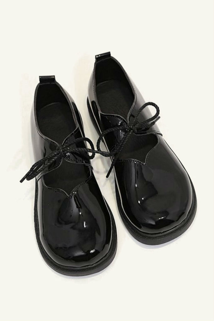 Black Patent Mary Jane Shoes 🙅