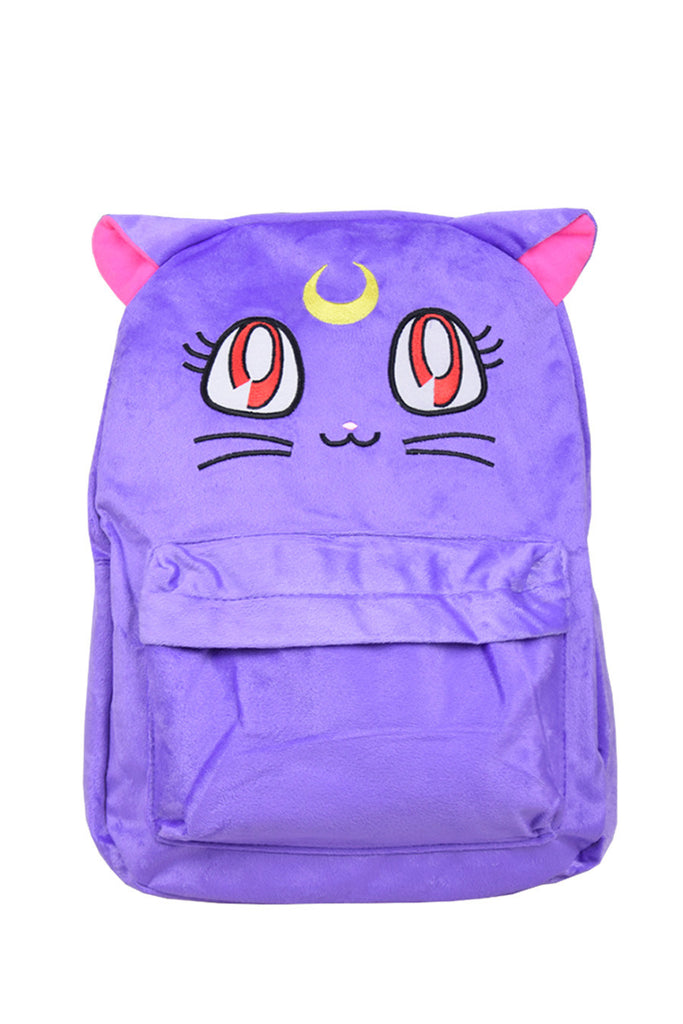 Luna Nylon Plush Backpack 🎒