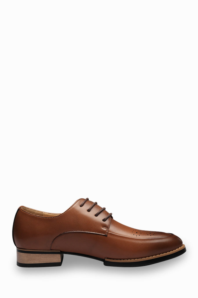 Brogue Men's Dress Shoes In Brown