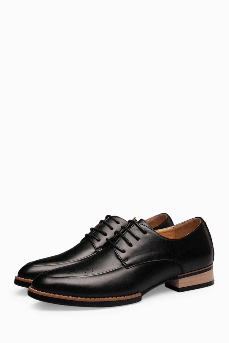 Brogue Men's Dress Shoes In Black