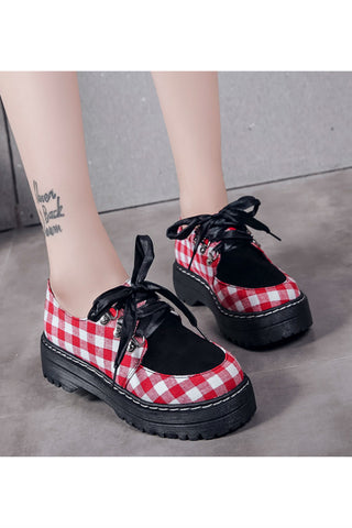 Harajuku Checker Creepers