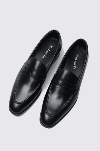 Classic Black Dress Loafer