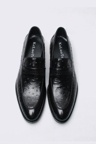 Black Hand Mand Dress Loafer
