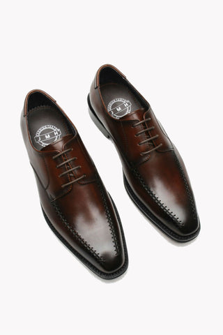 Elegant Brown Hand Made Dress Shoes