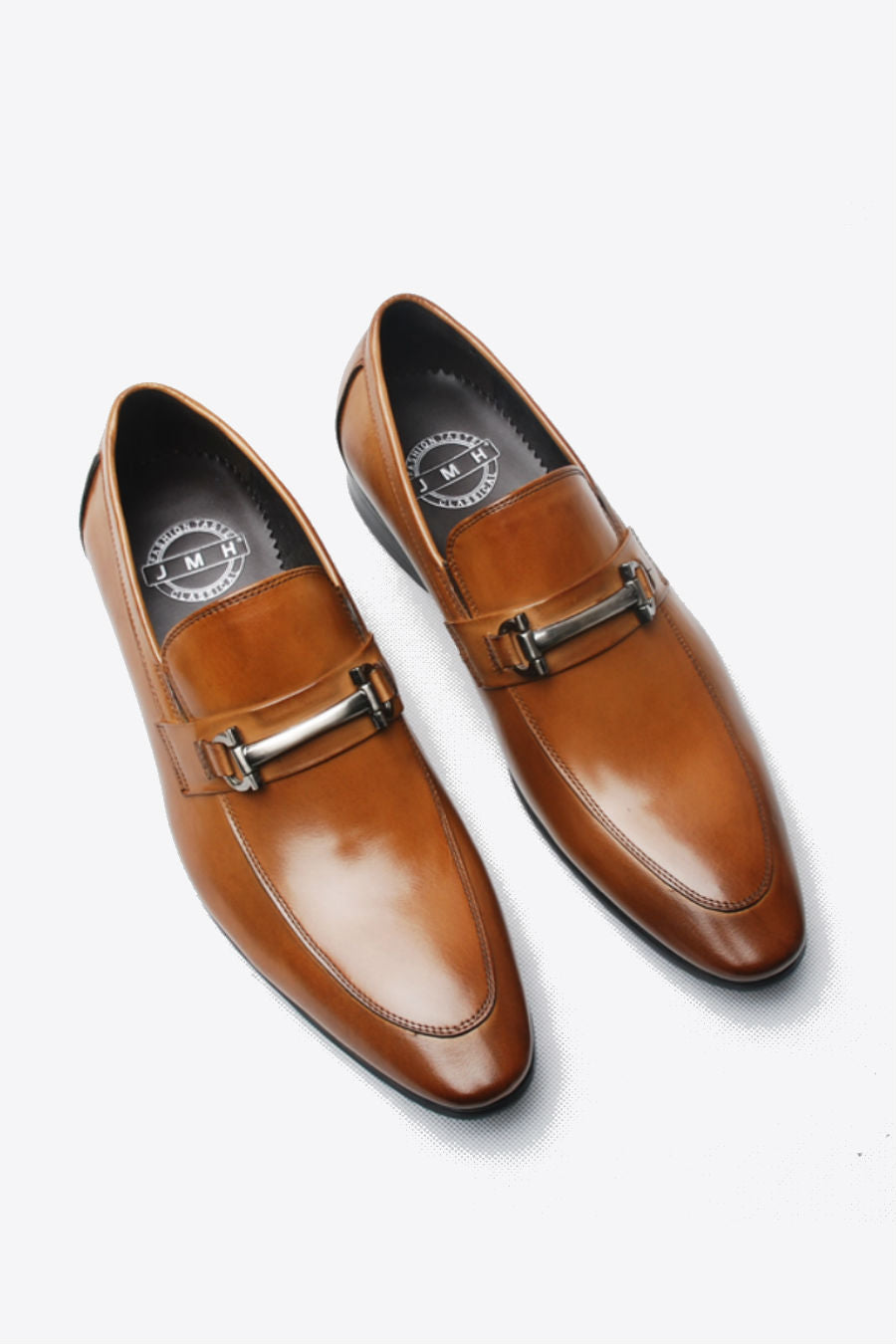 Brown Slip On Dress Loafer