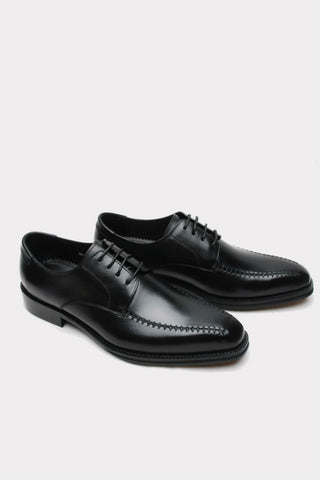 Elegant Black Hand Made Dress Shoes