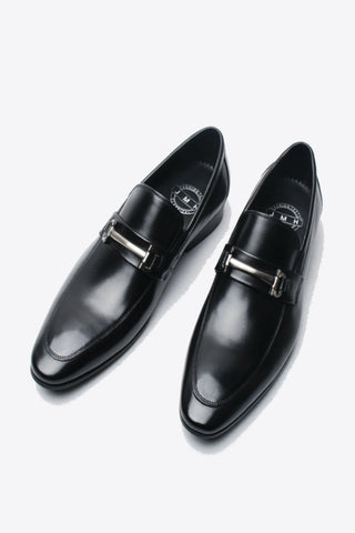 Black Slip On Dress Loafer