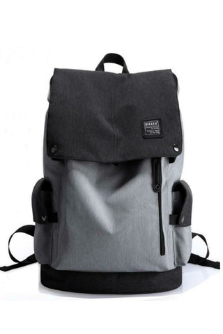 Elegant Gray Travel Backpack