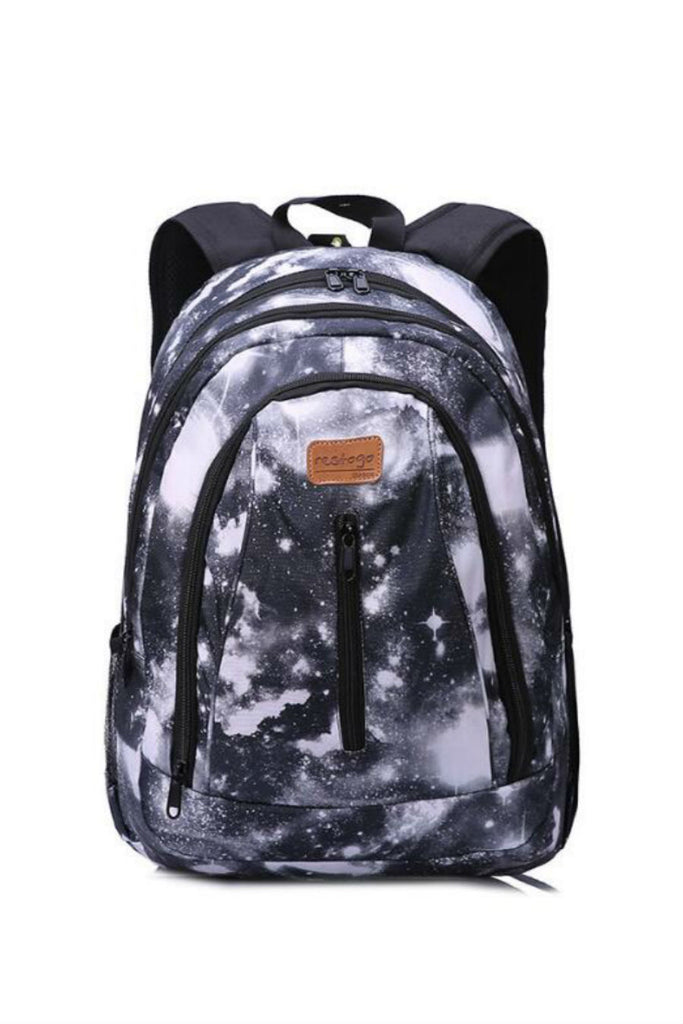 Gray Galaxy Travel Backpack