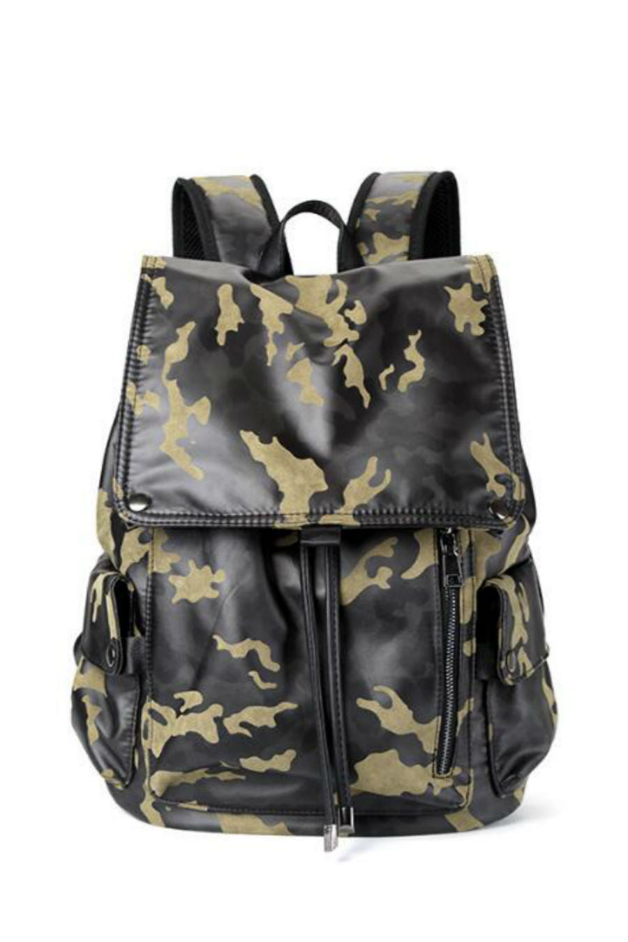 Camo Print Travel Backpack