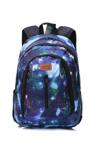 Blue Galaxy Travel Backpack