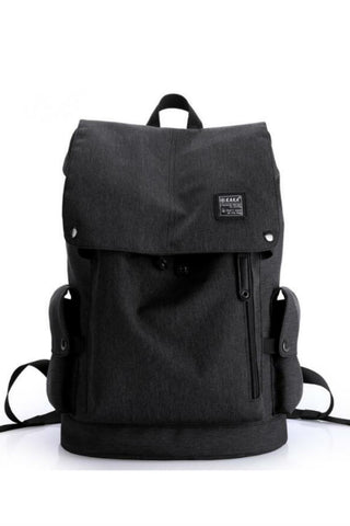 Elegant Black Travel Backpack