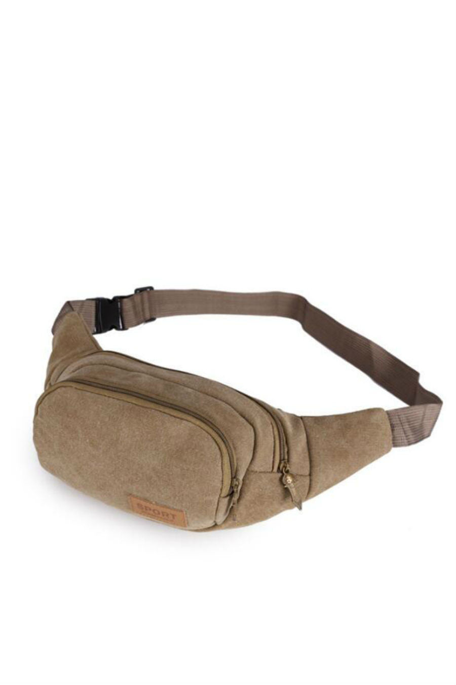 Men Classic Canvas Waist Bag