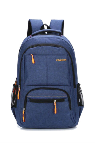 Fashion Blue School Backpack