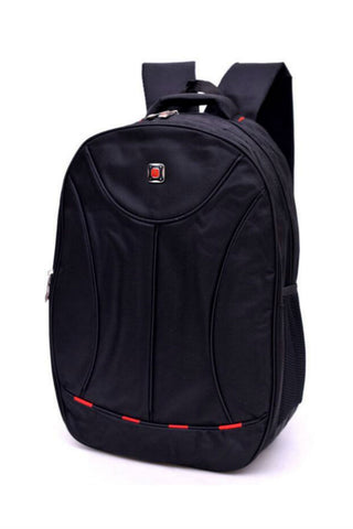 Black Laptop School Backpack
