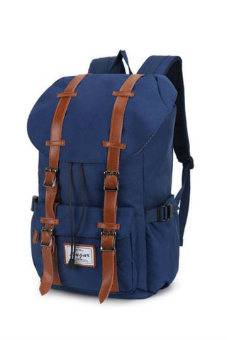 Big Capacity Blue Travel Backpack