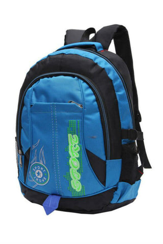 Blue Laptop School Backpack