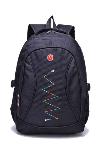 Black Laptop Travel Backpack