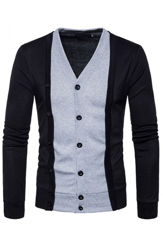 Black Button Up Cardigan