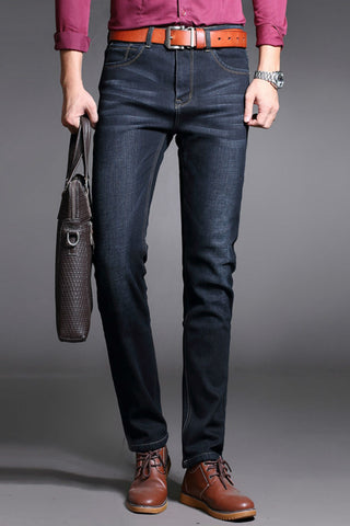 Straight Fleece Jeans