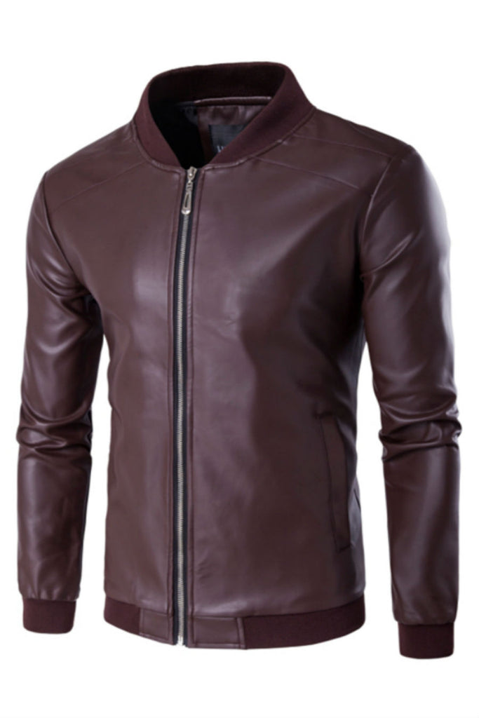 Elegant Biker Leather Jacket