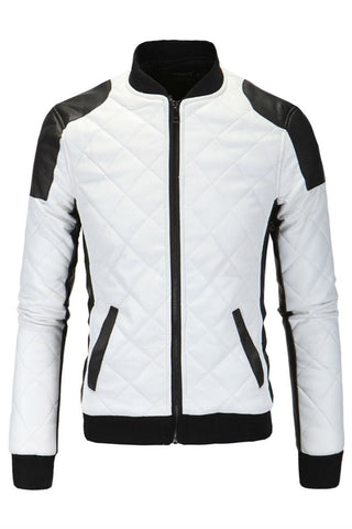 Bicolor Padded Jacket