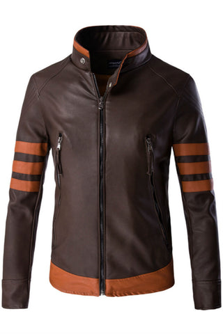 Brown Logans Leather Jacket