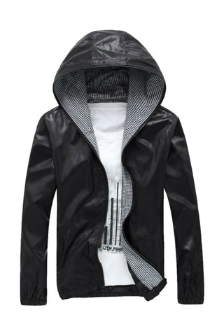 Thin Hooded Jacket