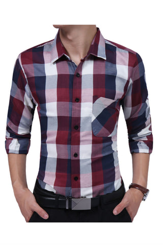 Business Tartan Shirt