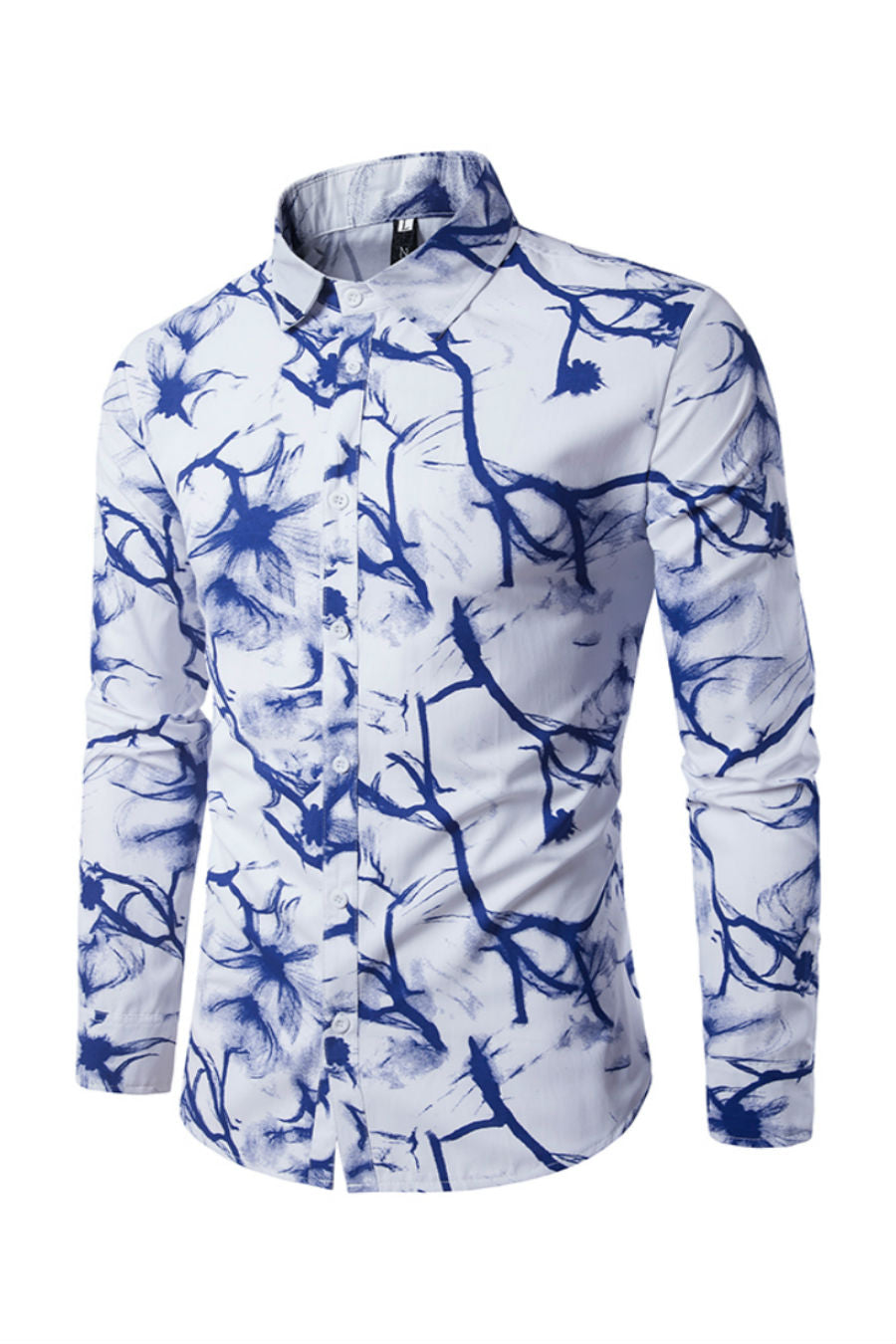 Floral Prints Slim Fit Shirt