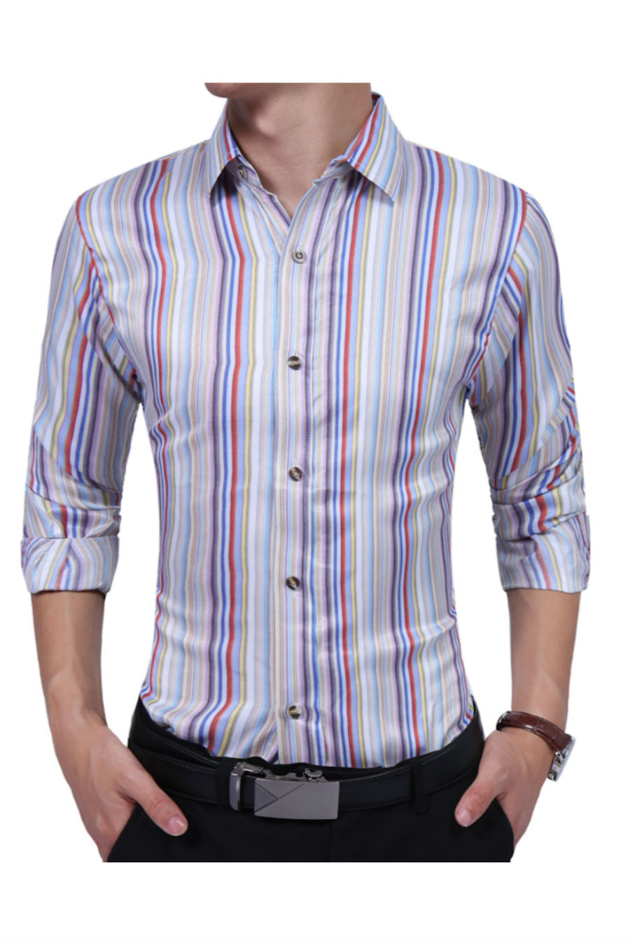 c3c8801ba Multicolor Striped Shirt. Tap to expand