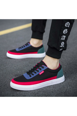 Color Block Casual Sneakers