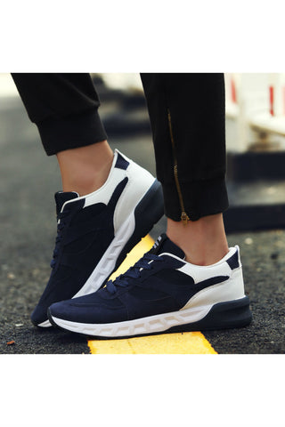 Navy Running Sneakers